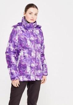 Куртка утепленная, Modis, цвет: фиолетовый. Артикул: MO044EWXWU46. Женская одежда / Верхняя одежда / Пуховики и зимние куртки