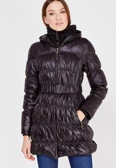 Пуховик, Colin's, цвет: черный. Артикул: MP002XW0EVFW. Женская одежда / Верхняя одежда / Пуховики и зимние куртки