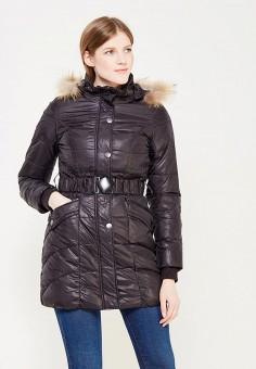 Пуховик, Colin's, цвет: черный. Артикул: MP002XW0EVG1. Женская одежда / Верхняя одежда / Пуховики и зимние куртки