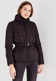 Пуховик, Colin's, цвет: черный. Артикул: MP002XW0N3T3. Женская одежда / Верхняя одежда / Пуховики и зимние куртки