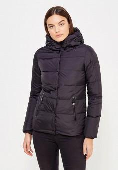 Пуховик, Colin's, цвет: черный. Артикул: MP002XW1AIR7. Женская одежда / Верхняя одежда / Пуховики и зимние куртки