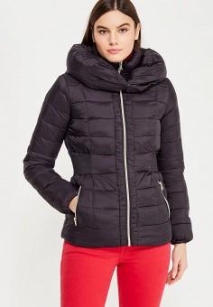 Пуховик, Colin's, цвет: черный. Артикул: MP002XW1ASDC. Женская одежда / Верхняя одежда / Пуховики и зимние куртки