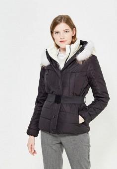 Пуховик, Colin's, цвет: черный. Артикул: MP002XW1ASEA. Женская одежда / Верхняя одежда / Пуховики и зимние куртки