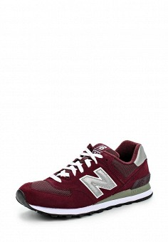 Кроссовки, New Balance, цвет: бордовый. Артикул: NE007AUJKW53. Женская обувь / Кроссовки и кеды / Кроссовки