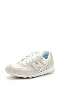 Кроссовки, New Balance, цвет: белый. Артикул: NE007AWDWY28. Женская обувь / Кроссовки и кеды / Кроссовки