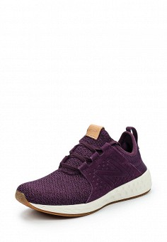 Кроссовки, New Balance, цвет: фиолетовый. Артикул: NE007AWUNX14. Женская обувь / Кроссовки и кеды / Кроссовки