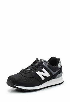 Кроссовки, New Balance, цвет: черный. Артикул: NE007AWUNZ38. Женская обувь / Кроссовки и кеды / Кроссовки