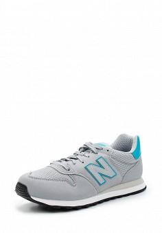 Кроссовки, New Balance, цвет: серый. Артикул: NE007AWUNZ48. Женская обувь / Кроссовки и кеды / Кроссовки