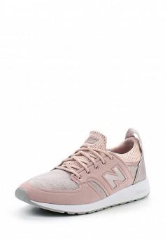 Кроссовки, New Balance, цвет: розовый. Артикул: NE007AWUNZ91. Женская обувь / Кроссовки и кеды / Кроссовки