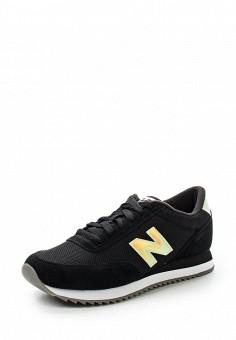 Кроссовки, New Balance, цвет: черный. Артикул: NE007AWUNZ98. Женская обувь / Кроссовки и кеды / Кроссовки