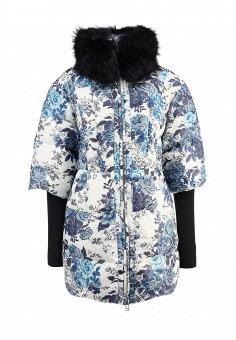 Пуховик, Odri, цвет: синий. Артикул: OD001EWGJW64. Женская одежда / Верхняя одежда / Пуховики и зимние куртки