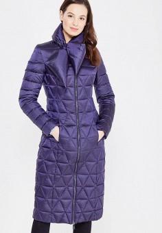 Пуховик, Odri, цвет: синий. Артикул: OD001EWXGF63. Женская одежда / Верхняя одежда / Пуховики и зимние куртки