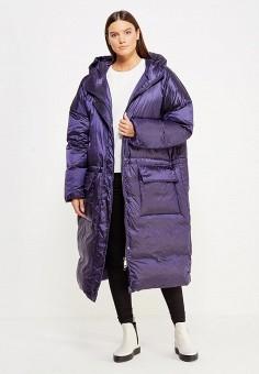 Пуховик, Odri, цвет: синий. Артикул: OD001EWXGR29. Женская одежда / Верхняя одежда / Пуховики и зимние куртки