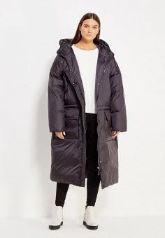 Пуховик, Odri, цвет: черный. Артикул: OD001EWXGR30. Женская одежда / Верхняя одежда / Пуховики и зимние куртки