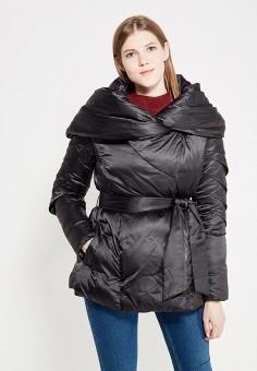 Пуховик, Odri, цвет: черный. Артикул: OD001EWYGM46. Женская одежда / Верхняя одежда / Пуховики и зимние куртки