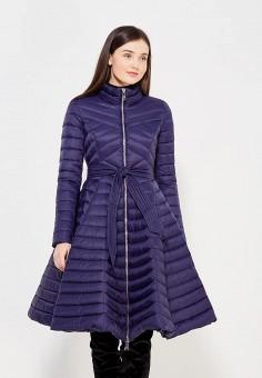 Пуховик, Odri, цвет: синий. Артикул: OD001EWYGM62. Женская одежда / Верхняя одежда / Пуховики и зимние куртки