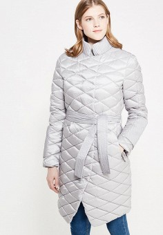Пуховик, Odri, цвет: серый. Артикул: OD001EWYGM80. Женская одежда / Верхняя одежда / Пуховики и зимние куртки