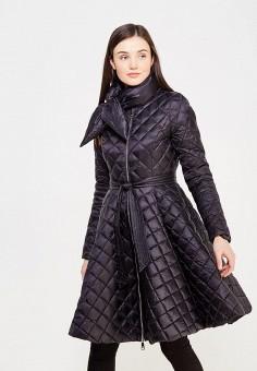 Пуховик, Odri, цвет: черный. Артикул: OD001EWYGM83. Женская одежда / Верхняя одежда / Пуховики и зимние куртки