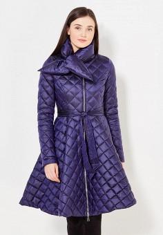 Пуховик, Odri, цвет: синий. Артикул: OD001EWYGM85. Женская одежда / Верхняя одежда / Пуховики и зимние куртки
