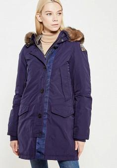 Пуховик, Parajumpers, цвет: синий. Артикул: PA997EWTCG62. Женская одежда / Верхняя одежда / Пуховики и зимние куртки