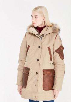 Пуховик, Parajumpers, цвет: бежевый. Артикул: PA997EWTCG67. Женская одежда / Верхняя одежда / Пуховики и зимние куртки