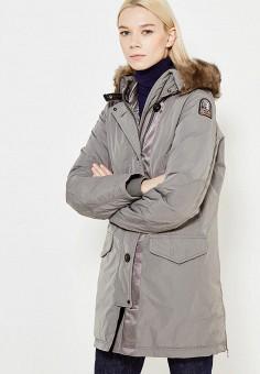 Пуховик, Parajumpers, цвет: серый. Артикул: PA997EWWHP26. Премиум / Одежда / Верхняя одежда / Пуховики и зимние куртки