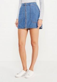 Классные джинсовые юбки