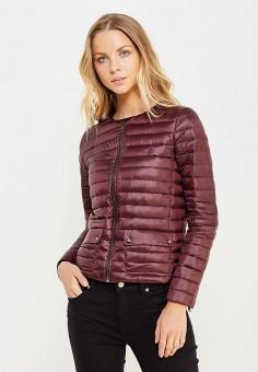 Пуховик, Polo Ralph Lauren, цвет: бордовый. Артикул: PO006EWUIJ70. Премиум / Одежда / Верхняя одежда / Пуховики и зимние куртки