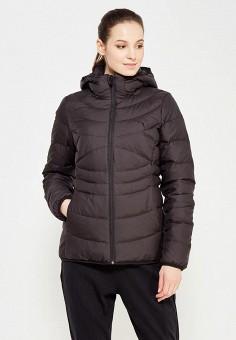 Пуховик, Puma, цвет: черный. Артикул: PU053EWUTJ62. Женская одежда / Верхняя одежда / Пуховики и зимние куртки