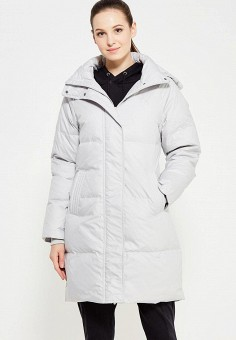 Пуховик, Puma, цвет: серый. Артикул: PU053EWUTJ74. Женская одежда / Верхняя одежда / Пуховики и зимние куртки