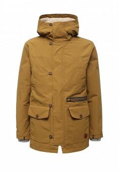 Парка, Quiksilver, цвет: коричневый. Артикул: QU192EMVOD10. Мужская одежда / Верхняя одежда / Парки