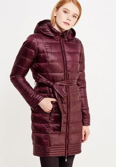 Пуховик, Savage, цвет: бордовый. Артикул: SA004EWVJW34. Женская одежда / Верхняя одежда / Пуховики и зимние куртки