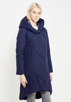 Пуховик, Savage, цвет: синий. Артикул: SA004EWVJW91. Женская одежда / Верхняя одежда / Пуховики и зимние куртки
