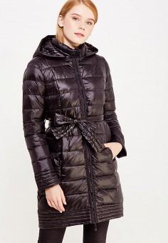 Пуховик, Savage, цвет: черный. Артикул: SA004EWVJX01. Женская одежда / Верхняя одежда / Пуховики и зимние куртки