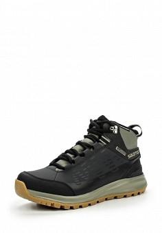 Ботинки, Salomon, цвет: черный. Артикул: SA007AMJJK86. Мужская обувь / Ботинки и сапоги