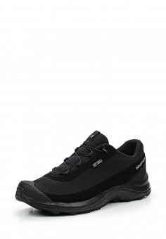 Ботинки трекинговые, Salomon, цвет: черный. Артикул: SA007AMUHK39. Мужская обувь / Ботинки и сапоги