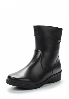 Полусапоги, Salamander, цвет: черный. Артикул: SA815AWTTN31. Женская обувь / Сапоги