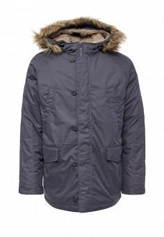 Пуховик, Sela, цвет: синий. Артикул: SE001EMUSB44. Мужская одежда / Верхняя одежда / Пуховики и зимние куртки