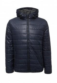 Куртка утепленная, Sela, цвет: синий. Артикул: SE001EMUSB54. Мужская одежда / Верхняя одежда / Пуховики и зимние куртки