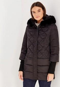 Пуховик, Sela, цвет: черный. Артикул: SE001EWURO68. Женская одежда / Верхняя одежда / Пуховики и зимние куртки