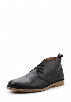 Ботинки, Selected Homme, цвет: черный. Артикул: SE392AMUHU75. Мужская обувь / Ботинки и сапоги
