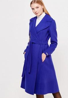 Пальто, Sportmax Code, цвет: синий. Артикул: SP027EWTMG82. Премиум / Одежда / Верхняя одежда