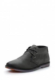 Ботинки, Superdry, цвет: черный. Артикул: SU789AMVCE02. Мужская обувь / Ботинки и сапоги