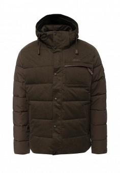 Куртка утепленная, Tenson, цвет: хаки. Артикул: TE948EMNCV54. Мужская одежда / Верхняя одежда / Пуховики и зимние куртки