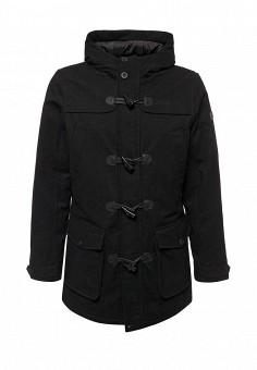 Куртка утепленная, Tenson, цвет: черный. Артикул: TE948EMYIT29. Мужская одежда / Верхняя одежда / Пуховики и зимние куртки