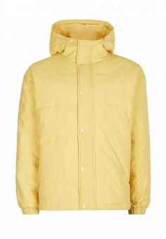 Куртка утепленная, Topman, цвет: желтый. Артикул: TO030EMWFN83. Мужская одежда / Верхняя одежда / Пуховики и зимние куртки