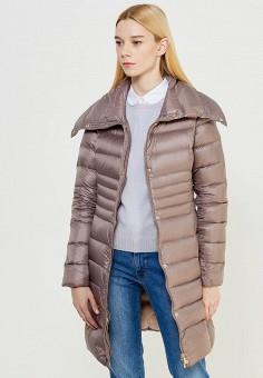 Пуховик, Trussardi Jeans, цвет: серый. Артикул: TR016EWUWF09. Премиум / Одежда / Верхняя одежда / Пуховики и зимние куртки