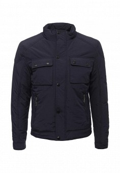 Куртка утепленная, Vanzeer, цвет: синий. Артикул: VA016EMWKJ21. Мужская одежда / Верхняя одежда / Пуховики и зимние куртки