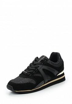 Кроссовки, Versace Jeans, цвет: черный. Артикул: VE006AWUBI37. Премиум / Обувь / Кроссовки и кеды