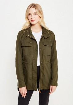 Куртка, Vero Moda, цвет: хаки. Артикул: VE389EWUJN82. Женская одежда / Верхняя одежда / Парки